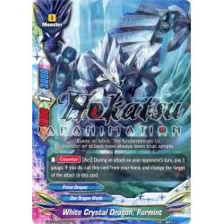 BFE X-BT01/0044EN Foil/R White Crystal Dragon, Furmint