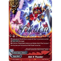 BFE X-BT01/0060EN Foil/U Add x Thunder