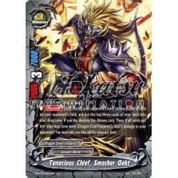 BFE X-BT01/0071EN Foil/U Tenacious Chief, Smasher Gekt