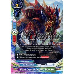 BFE X-BT01/0077EN Foil/U Black Crystal Dragon, Shao Xin