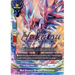 BFE X-BT01/0079EN Foil/U Red Crystal Dragon, Almarone