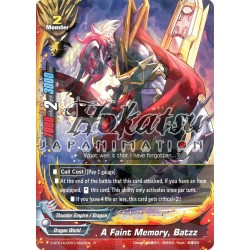 BFE X-BT01A-CP01/0026EN R A Faint Memory, Batzz