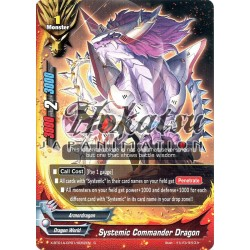 BFE X-BT01A-CP01/0052EN C Systemic Commander Dragon