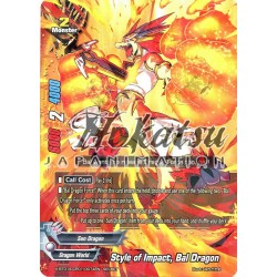 BFE X-BT01A-CP01/0074EN Secret/Rare Style of Impact, Bal Dragon