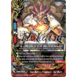 BFE X-BT01A-CP01/0075EN Secret/Foil Sun Deity's Fragment, Bal Burn