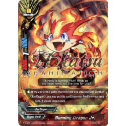 BFE X-BT01A-CP01/0076EN Secret/Foil Burning Dragon Jr.