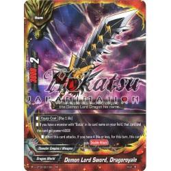 BFE X-BT02/0010EN RR Demon Lord Sword, Dragoroyale