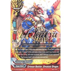 BFE X-BT02/0048EN U Crimson Battler, Greatest Dragon