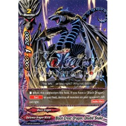 BFE X-BT02/0094EN C Black Crest Dragon, Double Snake
