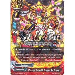 BFE X-BT02/0022EN Foil/R The Ideal Invincible Dragon, Bal Dragon