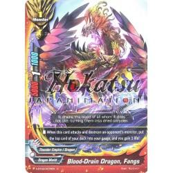 BFE X-BT02/0078EN Foil/C Blood-Drain Dragon, Fangs