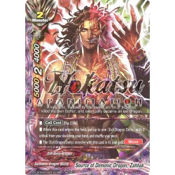 BFE X-BT02A-CP03/0078EN Secret/RR Source of Demonic Dragon, Zahhak