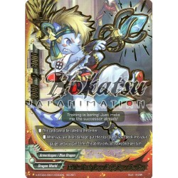 BFE X-BT02A-SS01/0034EN Secret/RRR Fifth Omni Cavalry Dragon Disciple, Hagun of Sand Cane