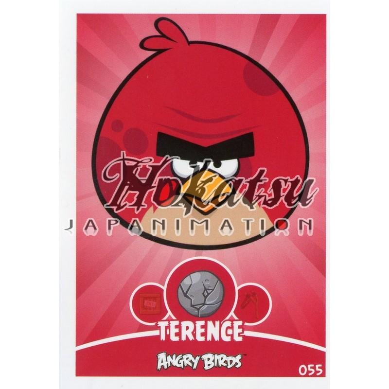 Angry Birds,Terence ,055/180 ,Angry Birds,Unit Cards,Card to be  collected,Playing card,card,Hokatsu com,Hokatsu Fr,Hokatsu,Sale,