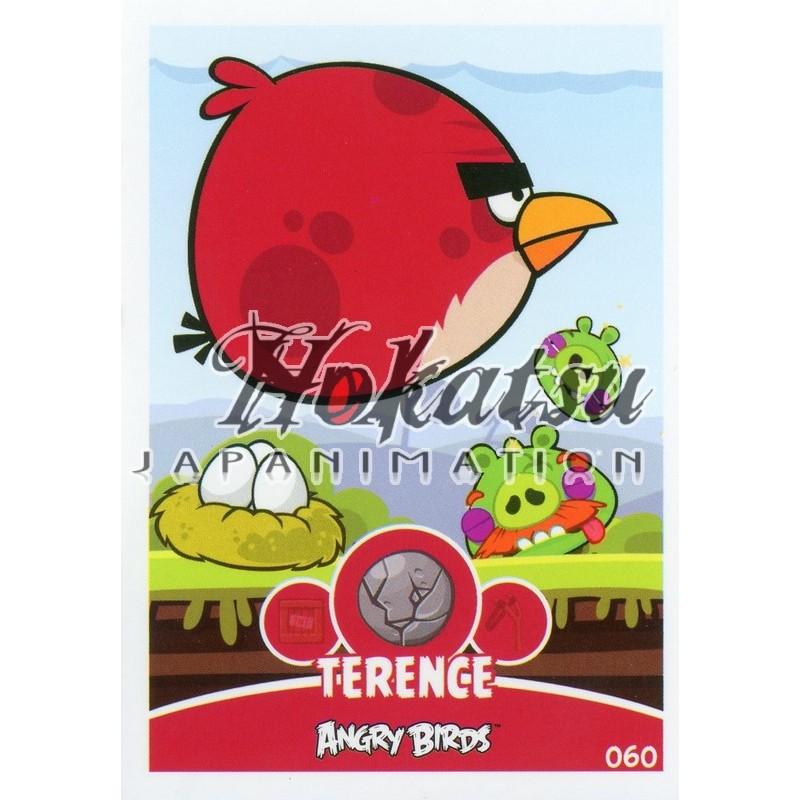 Angry Birds,Terence ,060/180 ,Angry Birds,Unit Cards,Card to be  collected,Playing card,card,Hokatsu com,Hokatsu Fr,Hokatsu,Sale,