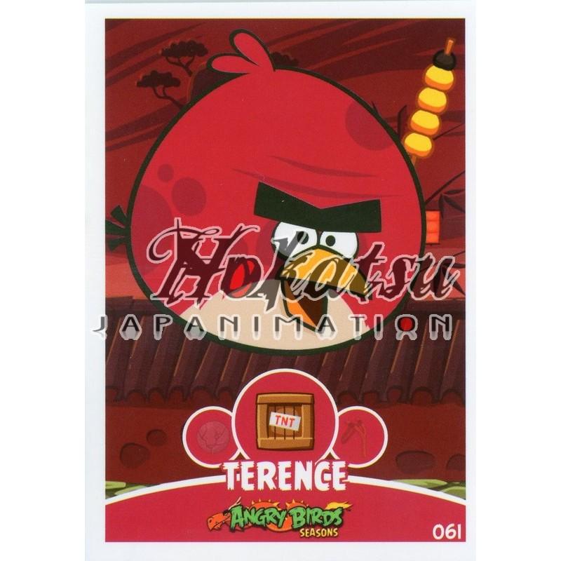 Angry Birds,Terence ,061/180 ,Angry Birds,Unit Cards,Card to be  collected,Playing card,card,Hokatsu com,Hokatsu Fr,Hokatsu,Sale,