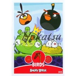 145/180  Commune Birds  Bubbles,Bomb,King-Pig