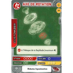 084/160 Commune Axe de rotation