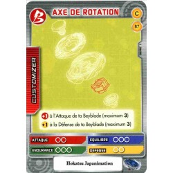087/160 Commune Axe de rotation