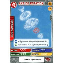 088/160 Commune Axe de rotation