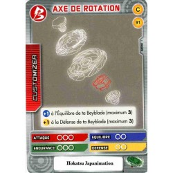 091/160 Commune Axe de rotation