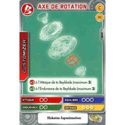 092/160 Commune Axe de rotation