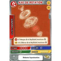 093/160 Commune Axe de rotation