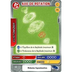 094/160 Commune Axe de rotation
