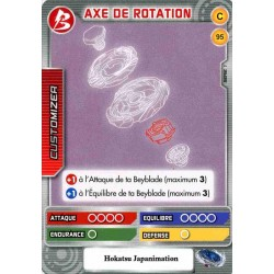 095/160 Commune Axe de rotation