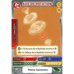 096/160 Commune Axe de rotation