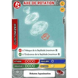 097/160 Commune Axe de rotation