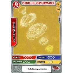 104/160 Commune Point de performance