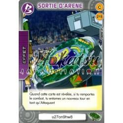 215/240 Commune SORTIE D'ARENE