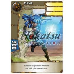 """004/180 Commune Personnage (Équipe Stax) - """"Maya"""""""