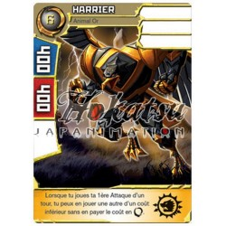 "018/180 Super Rare Monstres (Animal Or) - ""Harrier"""