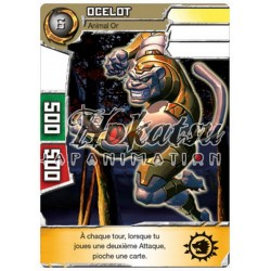 "020/180 Rare Pack Or  Monstres (Animal Or) - ""Ocelot"""