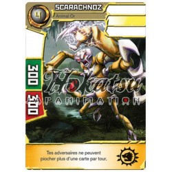 "021/180 Super Rare Monstres (Animal Or) - ""Scarachnoz"""