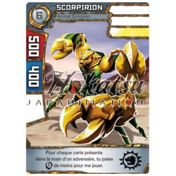 "025/180 Commune Monstres (Animal Scorpion) - ""Scorpirion"""