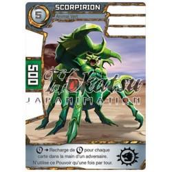 """028/180 Commune Monstres (Animal Vert) - """"Scorpirion"""""""