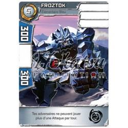 """030/180 Rare Monstres (Élémentaire Bleu) - """"Froztok"""""""