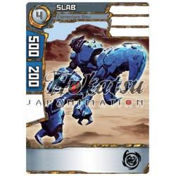 """033/180 Commune Monstres (Élémentaire Bleu) - """"Slab"""""""