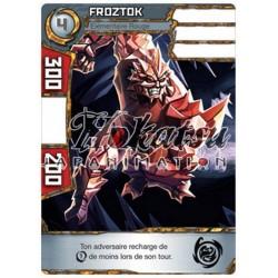 """038/180 Commune Monstres (Élémentaire Rouge) - """"Froztok"""""""