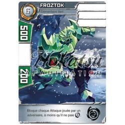 "042/180 Rare Monstres (Élémentaire Vert) - ""Froztok"""