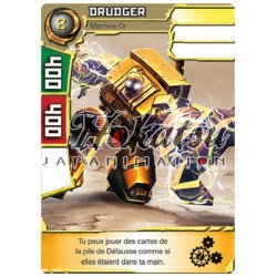 "050/180 Super Rare Monstres (Machine Or) - ""Drudger"""