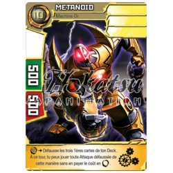"051/180 Super Rare Monstres (Machine Or) - ""Metanoid"""