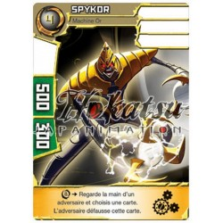 "052/180 Super Rare Monstres (Machine Or) - ""Spykor"""