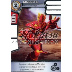 "055/180 Rare Pack Or  Monstres (Machine Rouge) - ""Circuits"""