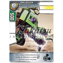 "060/180 Rare Exclusif  Monstres (Machine Verte) ""Drudger"""