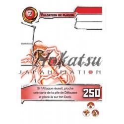 """146/180 Rare Pack Or  Attaques """"Pulsation de plasma"""""""