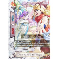 BFE X-BT03A-UB01/0012EN RR Friends of the Braves, Baku & Kaguru